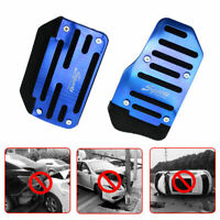 Non-Slip Automatic Gas Brake Foot Pedal Pad Cover Car Accessories 2pcs/set Blue