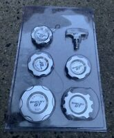 NEW 2007-2008 FORD MUSTANG SHELBY GT DRESS-UP ENGINE CAP SET - FREE SHIPPING!