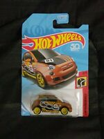 Hot wheels super treasure hunt Fiat 500
