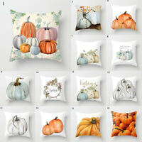 Printed Square Throw Pillows Covers Soft Bed Cushion Case Cover Home Supplies