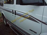 Mark III Custom stripe Van Boat Truck Auto Airplane RV Graphics original design