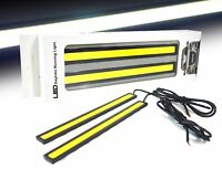 2x Super Bright COB White Car LED Lights for DRL Fog Driving Lamp Waterproof 12V