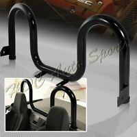 For 1990-2005 Mazda Miata MX5 Black Stainless Steel Stabilize Support Roll Bar
