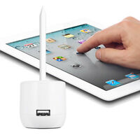 Desktop Charger Charging Dock Holder Stand for Apple iPad Pro Pencil with Cap Ke