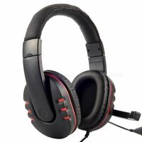 USB Live Headset Headphone Microphone for PlayStation 3 PS3 PC Laptop desktop