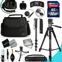 Xtech Accessory KIT for SONY Alpha A6000 Ultimate w/ 32GB Memory + 4 bts + MORE