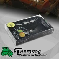 1 X Tree Frog Black Classic Squash Home Car Air Freshener Fresh Box Refill 2.8oz