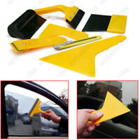 Car Auto Window Scraper Wrap Tint Vinyl Film Squeegee Cleaning Tool Kit 7PCS
