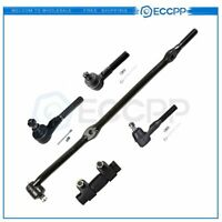 Suspension Steering SET Tie Rod Drag Link for 1997-2006 JEEP TJ Wrangler 4WD
