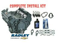 NEW OEM GM ENGINE 350 CRATE 195HP STOCK COMPLETE INSTALL KIT 12681429 10067353