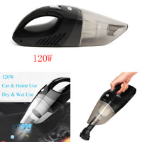 Home Car Cordless Vacuum Cleaner High power Handheld 12V 120W Black Rechargeable
