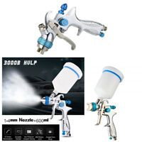 1.4mm Nozzle HVLP Gravity Feed Professional Auto Car Paint Spray Gun 600ml Cup