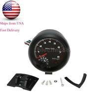 Universal Car 3.75'' White Shift Light Tachometer Tacho Gauge 0~8000RPM US STOCK