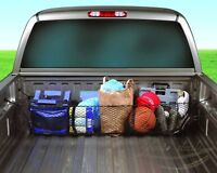 Three Pocket Storage Net Car Cargo Organizer Pickup Truck Bed Tool Suv Groceries