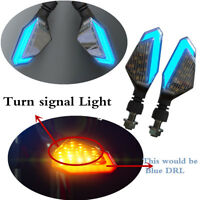 Motorcycle Turn Signal Light High Transparent Lamp Shell Bright 3528 LED Chip