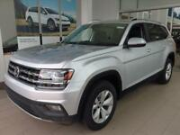Atlas 3.6L V6 SE 4MOTION 2018 Volkswagen Atlas, Reflex Silver Metallic with 9 Miles available now!