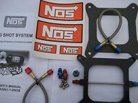 NOS/NITROUS/NX/ZEX/EDELBROCK/ NOS BIGSHOT HOLLEY 4150 PLATE KIT 175-400HP *NEW!