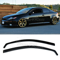 For 05-10 Scion TC Side Window Visors JDM Rain Guard In-Channel Vent Gen1