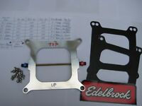 NEW HOLLEY 4150 PROSHOT 250 NITROUS PLATE KIT-AS SHOWN-50-250HP EDELBROCK/NX/NOS