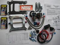 X-MAS SALE! NEW NOS/NX/EDELBROCK/ HOLLEY 4150 CHEATER NITROUS PLATE KIT 50-250HP