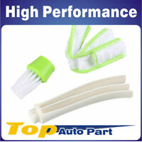 Hot  Car Cleaning Brush Double Heads Microfiber  Vent Air-Condition Blind Brush