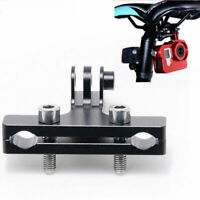 Aluminum Bike Bicycle Saddle Rail Racing Seats Mounts Adaptor For GoPro Camera