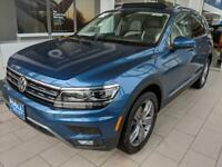 2019 Volkswagen Tiguan 2.0T SEL Premium 4Motion 2019 Volkswagen Tiguan, Silk Blue Metallic with 5158 Miles available now!