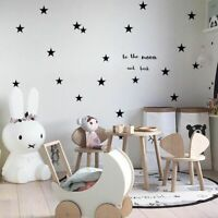 Baby Nursery Bedroom Stars Wall Sticker For Kids Room Home Decoration Children