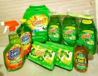 Household cleaning supplies bundle lot Gain Detergent 96 count (4.75 l bs)