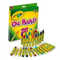 Crayola Oil Pastels, School Supplies, Kids Indoor Activities At Home, 28