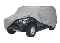 Hummer H1 w/ open top Custom Fit Car Cover Waterproof