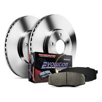 For Toyota Tundra 00-02 Brake Kit K2323 1-Click Autospecialty Replacement Plain