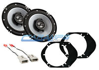 NEW KENWOOD REPLACEMENT FORD CAR/TRUCK FRONT OR REAR SPEAKERS W INSTALL KIT
