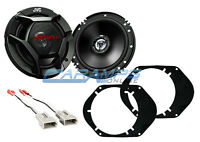NEW JVC FORD 2-WAY CAR/TRUCK FRONT OR REAR AUDIO SPEAKERS W SPEAKER HARNESS