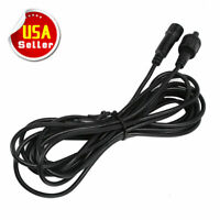 2x 3m/10 FT 9 AWG Extension Cord Cable Wire Universal for RGB Rock Lights