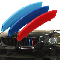 M Color Car Front Grille Strips Cover Stickers Clips For BMW 5 Series E60 04-10