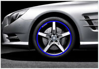 Car Accessories Car Tire Blue Trim Strips Motorcycle tyre decoration