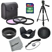 11pc 58mm Multi-Coated Professional Lens Filter Accessory Kit
