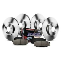 Chevy Cruze 11-18 Brake Kit K5551 1-Click Autospecialty Replacement Plain Front