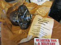 Dana 27 front axle NOS Power lock Diff carrier 22480X Fits Willys Kaiser jeeps