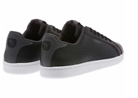 NEW PUMA Mens Smash Perf C Leather Sneakers Black Athletic Tennis Shoe Pick Size