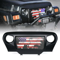 Gladiator Vader Matte Black Monster Grille Grill for 97-06 Jeep Wrangler TJ LJ