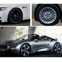 Fashion Car Accessories Car Tire Blue Red Trim Strips Motorcycle Tyre Decoration