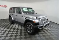 Jeep Wrangler Sahara 4WD Manual V6 SUV Leather Backup Camera 2018 Jeep Wrangler Unlimited Sahara 4WD Manual V6 SUV Leather Backup Camera