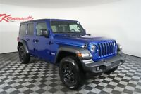 Jeep Wrangler Sport 4WD V6 SUV Backup Camera Keyless Entry 2018 Jeep Wrangler Unlimited Sport 4WD V6 SUV Backup Camera Keyless Entry