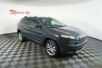 Jeep Cherokee Limited FWD I4 SUV Sunroof Leather Navigation Backup Camera 2018 Jeep Cherokee Limited FWD I4 SUV Sunroof Leather Navigation Backup Camera