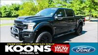 F-150 Black Ops Edition 4x4 Lariat Black Ops Edition 4x4 Lariat Lifted Custom, 35-inch Tires, Moonroof, 5.0L V8