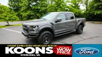 F-150 Raptor 4x4 Luxury LOADED 802A, MOONROOF, GRAPHICS, GRAPHICS, FORGED BEAD-LOCK WHEELS, TECH PKG!