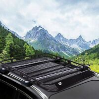 Universal Auto Roof Rack Cargo Car Top Luggage Carrier Mount Tray Holder Stand