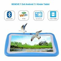 Kinder Tablet 7 Zoll, Android 7.1 OS, iWawa Pre-Installed, Quad Core (Blau)